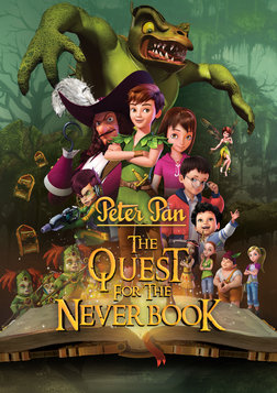 Peter Pan: The Quest for the Never Book